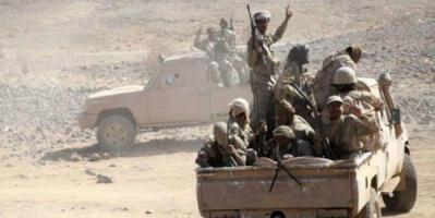 """البيضاء : الجيش الوطني يحرر بلدة """"المنقطع"""" ويتقدم باتجاه جبل """" المركوزة """" الإستراتيجي"""