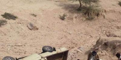 لحج : وفاة شيخ قبلي واصابة آخرين في حادث سير بطور الباحة