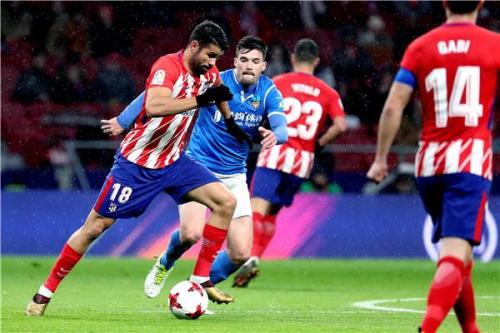 أتلتيكو مدريد يحجز مقعده في ربع نهائي كأس الملك