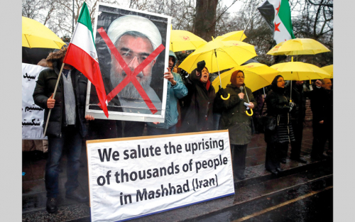 نائب إيراني يعلن اعتقال 3700 شخص خلال الاحتجاجات