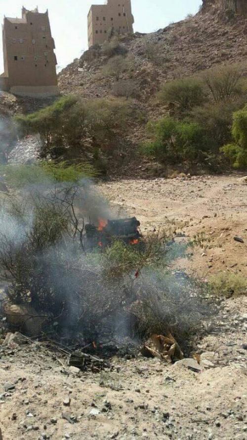 سيارة مفخخة تستهدف قوات النخبة الشبوانية بالصعيد