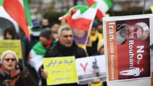 بروكسل.. احتجاجات على زيارة وزير الخارجية الإيراني