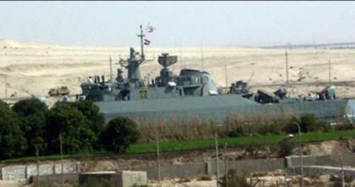 سفينة حربية إيرانية تصطدم بحاجز أمواج فى بحر قزوين وفقدان اثنين من طاقمها