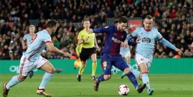 برشلونة يكتسح فيغو بخماسية ويتأهل لربع نهائي كأس ملك إسبانيا