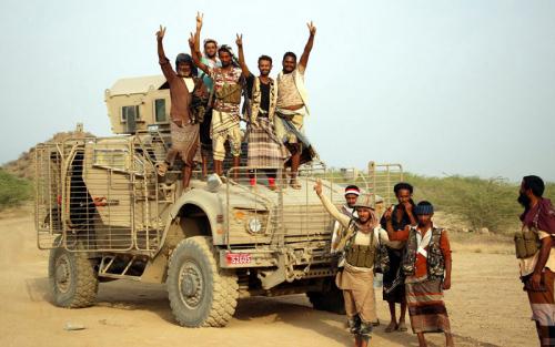 «الشرعية» تستكمل تأمين جبل أم العظب بصعدة ومواقع عدة شمال لحج