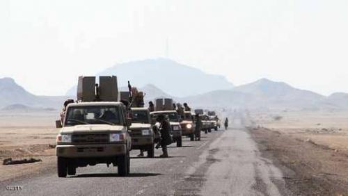 الجيش اليمني يسيطر على مواقع جديدة  في ناطع بالبيضاء