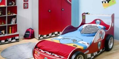 صور: لغرف نوم مذهلة يحلم بها كل طفل عاشق للسيارات!