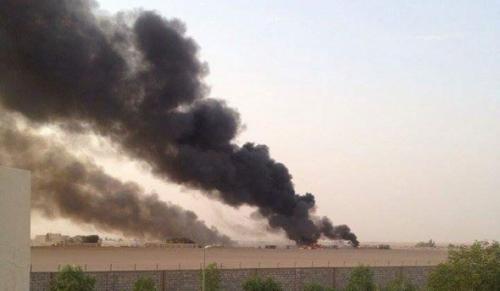 مقاتلات التحالف تشن غارات جوية مكثفة على مواقع تابعة لمسلحي الحوثي بمنطقة