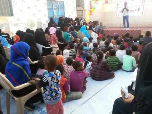 """مبادرة """" سفراء السلام """" تنظم حملة توعية عن أهمية التعليم وأسباب التسرب من المدارس بدار سعد"""