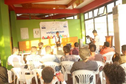 مؤسسة شباب عدن الواعد تنظم أمسية نقاشية في الذكرى الـ 12 للتصالح والتسامح الجنوبي بعدن