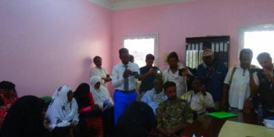 البكري يلتقي مندوبي اللاجئين الصومال في اليمن