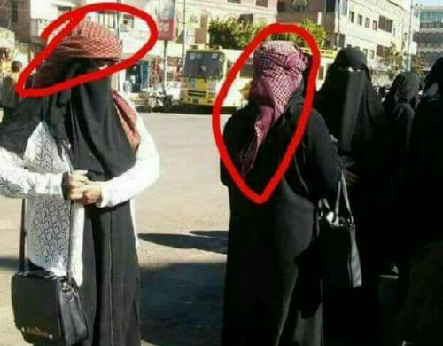 ما سر ارتداء متظاهرات صنعاء ضد الحوثيين عمائم القبائل ؟