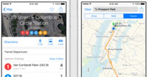 أبل تدعم خدمة الخرائط بمعلومات جديدة من داخل المطارات