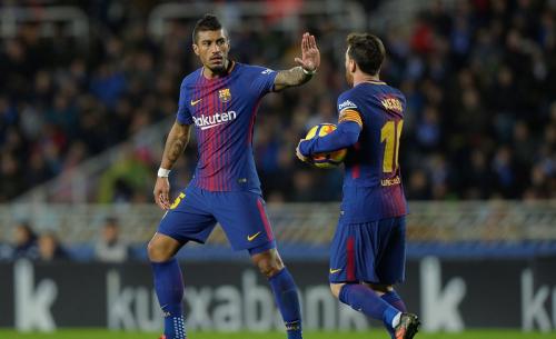 """برشلونة ينتفض أمام سوسييداد برباعية ويحطم """"عقدة أنويتا"""""""
