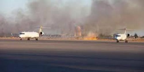 اشتباكات تشل مطار معيتيقة في طرابلس