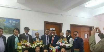 الباحث الشبحي ينال الدكتوراة  في العلوم من جامعة اسيوط بمصر