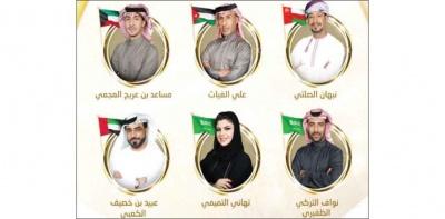 6 شعراء من 5 دول يتنافسون في أولى حلقات شاعر المليون