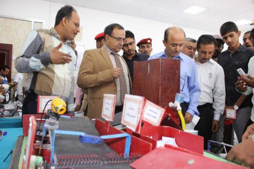 مسجل عام جامعة عدن المعرض الوطني للإختراع والإبداع حدث علمي كبير وانتصار آخر لعدن
