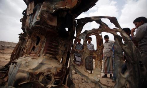 """واشنطن تعلن مقتل قياديين بارزين اثنين من""""القاعدة"""" بضربات نفذتها مقاتلاتها في اليمن"""