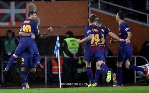 غيابات بالجملة عن قائمة برشلونة لمواجهة إسبانيول