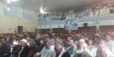 الضالع تحيي الذكرى الرابعة لإستشهاد القائد بركان محمد مانع