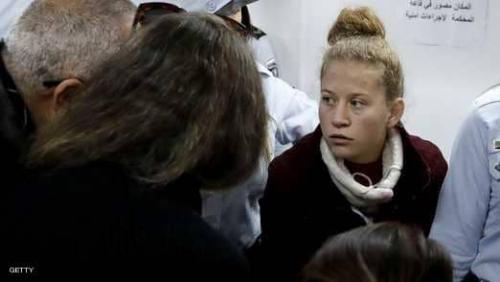 إسرائيل تمدد اعتقال عهد التميمي