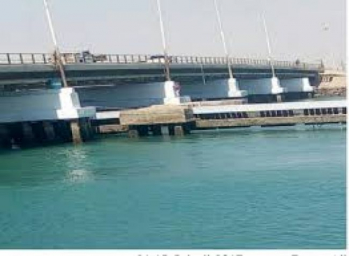 انجاز 95 بالمائة من مشروع صيانة جسر البريقة بعدن