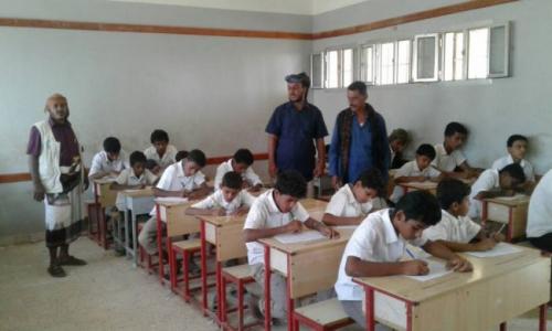 منظمة الهجرة الدولية تأهل سبع مدارس في شبوة بتكلفة 191 الف دولار
