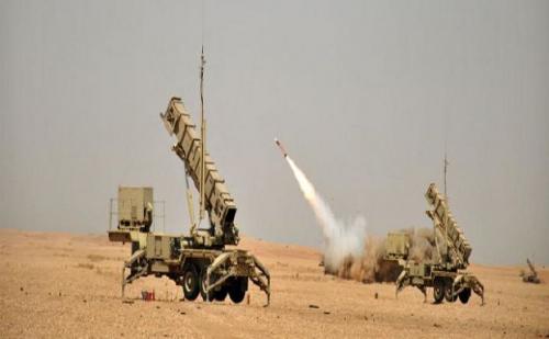 الدفاعات السعودية تعترض صاروخ اطلقته ميليشيا الحوثي باتجاه نجران