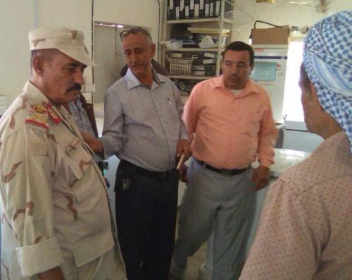 محافظ الضالع يتفقد مستشفى النصر العام بالمحافظة