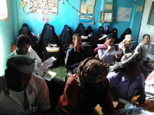 برعاية  اليونيسكو  الملاح  تحتضن  برنامج  اختيار  المدرب  المقيم  للدعم  النفسي  لمدارس  التعليم  الاساسي