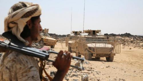مقتل 30 حوثيا في غارات جوية لقوات التحالف بجبهة حيس بينهم نجل وكيل محافظة الحديدة المعين من الانقلابيين