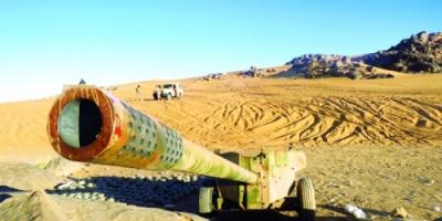 قوات الشرعية تنزع ألغام الحوثي وتفكك صواريخه في البقع