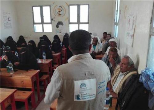 """مشروع """"بناء السلام في اليمن"""" يدخل مرحلة الحوار المجتمعي في محافظة لحج"""