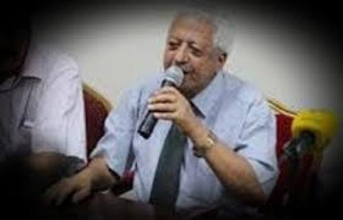 العميد نبيل المشوشي يبعث برقية عزاء بوفاة المناضل الدكتور صالح يحيى سعيد