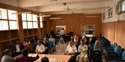 الدائرة الثقافية في المجلس الانتقالي الجنوبي تناقش التطرف الفكري والعنف وسبل مواجهتهما بندوة في مكتبه مسواط