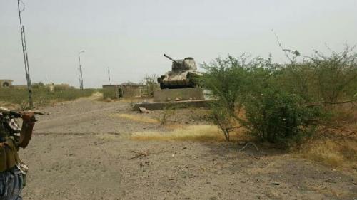 إطلاق عملية عسكرية واسعة للجيش الوطني غرب مدينة تعز
