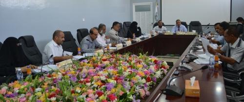 مجلس الدراسات العليا والبحث العلمي بجامعة حضرموت يعقد دورته الاعتيادية الثالثة للعام الجامعي 2017م 2018م