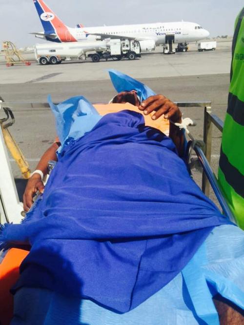ضمن دعم دولة الإمارات المستمر مكتب الجرحى بالساحل الغربي يخلي (35) جريحا للعلاج في مصر والهند
