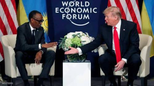 """بعد تصريحات """"مهينة"""".. ترامب يوجه تحيات حارة لقادة أفريقيا"""