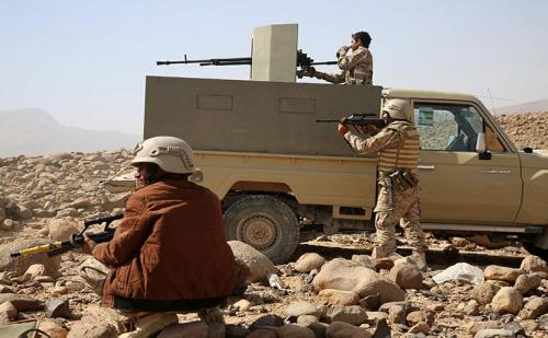 """الجيش الوطني يسيطر على جبل """" الرويبكة """" وأماكن أخرى بمعقل ميليشيا الحوثيين في صعدة"""