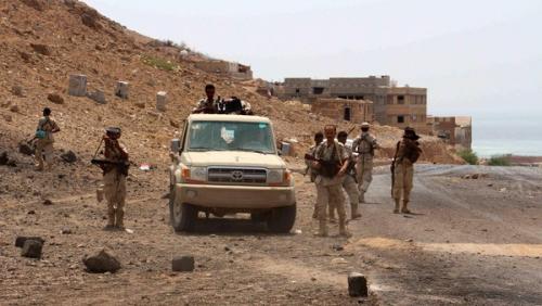 الجيش الوطني ينجح في تحرير مواقع بجبهة العنين بين تعز والحديدة