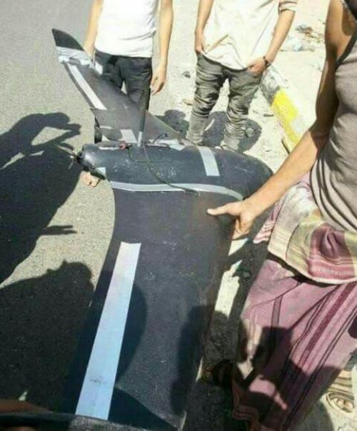 الجيش اليمني يسقط طائرة استطلاع للحوثيين بتعز