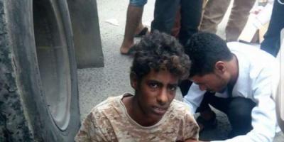 القبض على أطفال يقاتلون مع الحرس الرئاسي في عدن