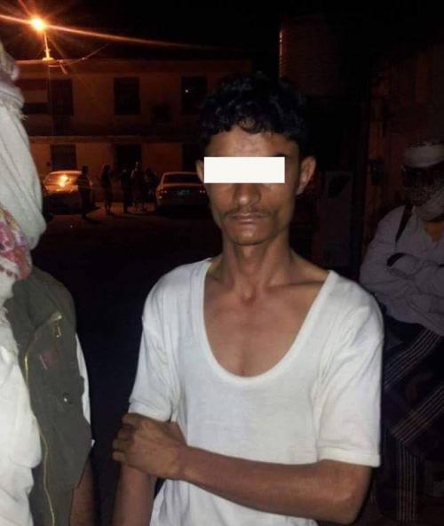 الحزام الأمني بعدن : يلقي القبض على قناص ينتمي لجهاز الأمن  المركزي فرع ذمار