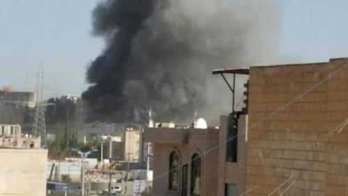 مقاتلات التحالف تدمر تعزيزات لميليشيا الحوثي شمال لحج
