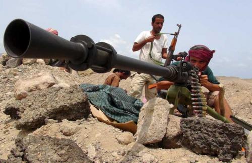 الجيش الوطني يسيطر على مواقع عسكرية استراتيجية في البيضاء