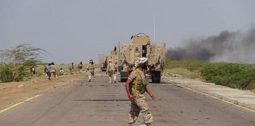 الجيش الوطني يواصل عملياته لتحرير مديرية حيس بالحديدة