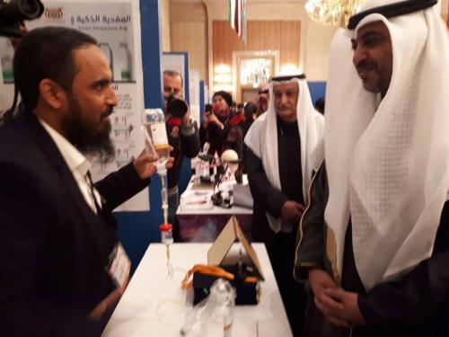 بدعم من السلطة المحلية مؤسسة حضرموت للاختراع تشارك في معرض الكويت الدولي للاختراع