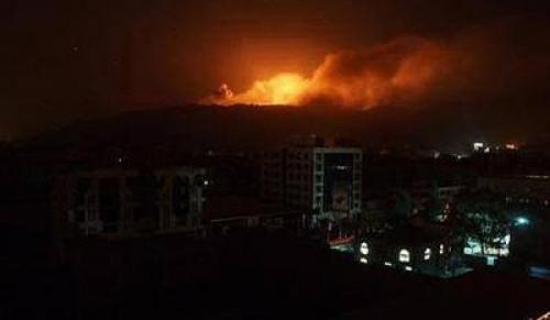 عاجل : انفجارات عنيفة تهز العاصمة اليمنية صنعاء